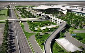 圖為隆城機場效果圖。(圖源:互聯網)