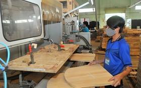 木製品加工一瞥。(圖源:田升)