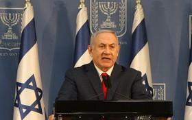 以色列總理內塔尼亞胡。(圖源:新華社)