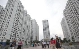 在各個公寓項目中,勞動者難以購買廉價的住房單位。