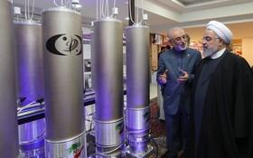 伊朗總統魯哈尼視察核設施。(圖源:EPA)