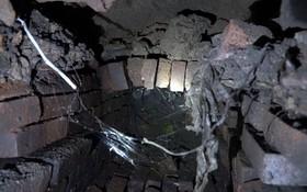 自法屬時期建設現已破舊、損壞的排水系統一瞥。(圖源:互聯網)