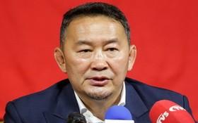 蒙古總統哈勒特馬‧巴特圖勒嘎。(圖源:越通社)