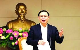 政府副總理、中央指委會主任王廷惠主持會議並發表講話。(圖源:互聯網)