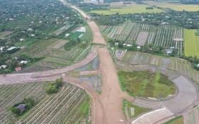 投建中的忠良-美順高速公路項目。(圖源:TNO)