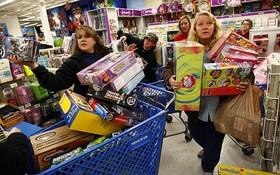 """當地時間11月29日,""""黑色星期五""""(Black Friday)(感恩節後一天)拉開美國假日購物季的大幕。(圖源:互聯網)"""