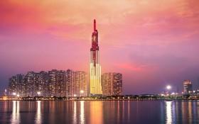 "Vinpearl Luxury Landmark 81 五星級酒店榮獲""世界最佳面河酒店""稱號。(圖源:互聯網)"