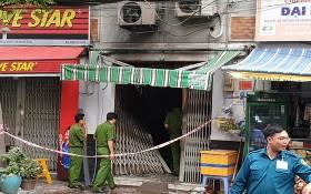 職能力量趕赴火警熄滅後的現場調查起火原因。(圖源:PLO)