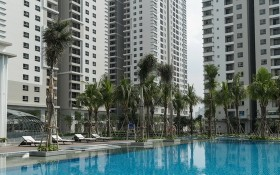 Saigon South Residences住房項目一期階段的A、B與C座公寓一瞥。(圖源:互聯網)