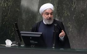伊朗總統魯哈尼。(圖源:EPA)