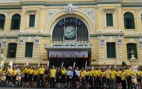 市社保機關與市郵政局宣傳鼓勵民眾參加自願性社保。