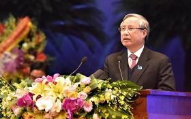 黨中央政治局委員、黨中央書記處常務書記陳國旺在會上致詞。(圖源:人民報)