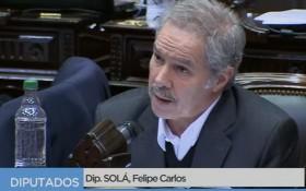 阿根廷外交部長費利佩‧卡洛斯‧索拉。(圖源:視頻截圖)