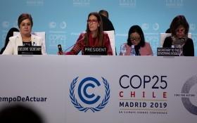2019年聯合國氣候變化大會現場。(图源:联合国)