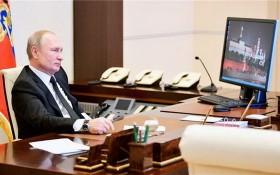 俄羅斯總統普京的辦公電腦仍在使用過時的Windows XP系統。(圖源:莫斯科時報)