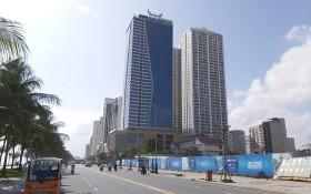 圖為峴港市芒清酒店與山茶高檔住房公寓組合項目。(圖源:段強)