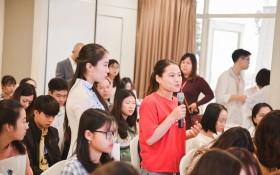 """""""2020 年到中國留學最新資訊""""座談會吸引當地眾多學生參加。"""