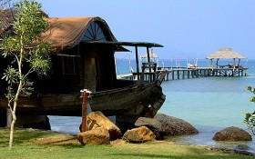 旅遊勝地的富國島一瞥。(圖源:互聯網)