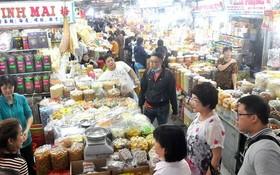 安東街市的商品豐富多樣。