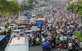 堵車是導致空氣污染的原因之一。