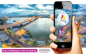 峴港成為東南亞第一個在旅遊業應用聊天機器 人的城市。(圖源:互聯網)