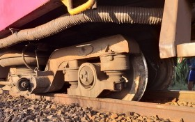 SE25號列車脫軌現場。(圖源:CTV)