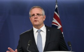 澳大利亞總理斯科特‧莫里森。(圖源:AAP)