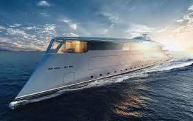 微軟公司聯合創始人比爾‧蓋茨斥資6億4500萬美元,購買了一艘氫動力生態遊艇。(圖源:英國《衛報》)