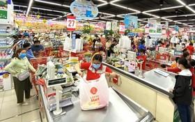 目前全市所有超市均確保各種糧食、食品供應量充足。(圖源:高昇)