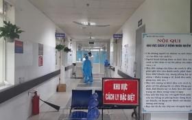 圖為平新郡醫院隔離病房區。(圖源:田升)