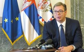 塞爾維亞共和國總統亞歷山大‧武契奇。(圖源:新華社)