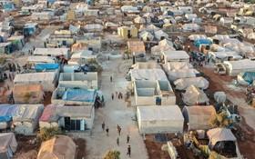 伊德利卜省有大量難民流離失所。(圖源:互聯網)