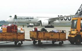 機場的行李牽引車。(圖源:互聯網)