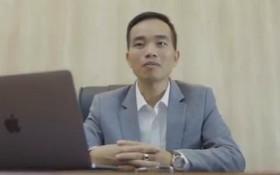 """涉嫌""""詐騙侵吞財產""""犯罪嫌疑人陳文會。(圖源:秋莊)"""