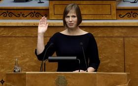 愛沙尼亞共和國總統克爾斯季‧卡尤萊德。(圖源:新華社)