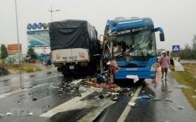 圖為一起嚴重的交通事故現場。(圖源:德壽)