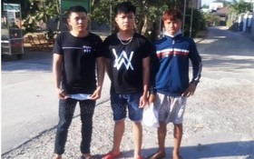 被捕的3名男子。(圖源:同奈公安報)