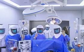 無錫完成首例新冠肺炎肺移植。(圖源:微博)