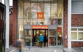 出現醫護人員感染的德國Maria Hilf醫院。(圖源:DPA)
