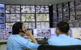 西貢河隧道管理中心連接逾700個攝像頭以調整交通。