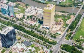 作為北南幹線一部分的阮文靈-阮友壽交通樞紐於今年第一季度緊急開展,為減輕本市南面通道交通壓力作出貢獻。