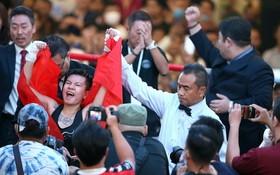 阮氏秋兒成為越南首位獲得WBO亞太區腰帶的女拳手。(圖源:互聯網)
