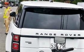 """違反交規的""""Range Rover""""牌汽車。(圖源:互聯網)"""