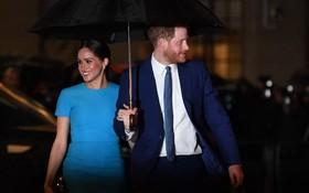 """哈利與梅根5日出席在倫敦舉行的""""奮進基金獎""""頒獎典禮。(圖源:Getty Images)"""