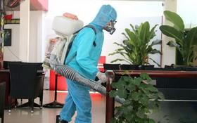 平順省加強消毒抗菌工作。(圖源:俊傑)