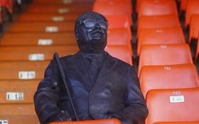 梅斯塔利亞中央看台的一座盲人雕像。(圖源:互聯網)