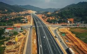 連接諒山省與金甌省的北南高速公路的若干路段已通車。