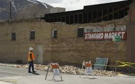 美國猶他州發生28年來最強的規模5.7地震,導致新冠肺炎熱線斷線,還迫使一座煉油廠撤離人員。(圖源:AP)