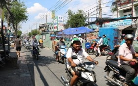 市交通運輸廳:交通工程4月1日前須恢復路面。(圖源:嘉明)