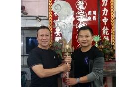 人民藝人劉劍昌捐贈先父關刀